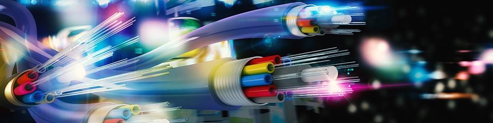 Funk Internet Glasfaser einblasen